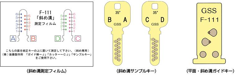 JN(F111)用複製治具
